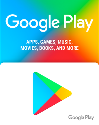 Google Play 50 AED