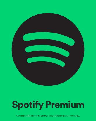 Spotify 30 USD