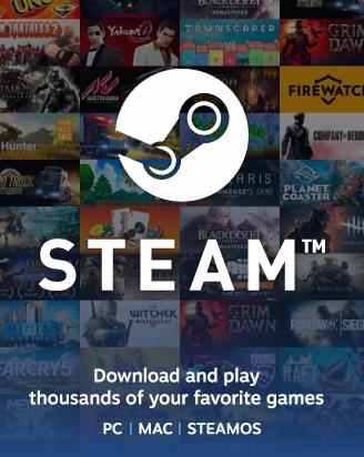 Steam 10 GBP