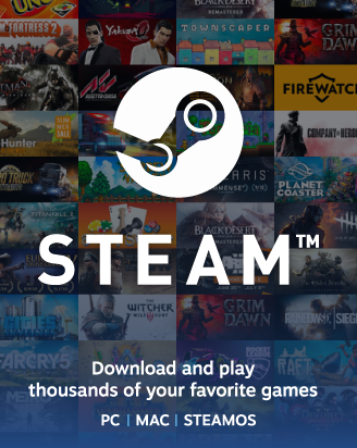 Steam 20 GBP