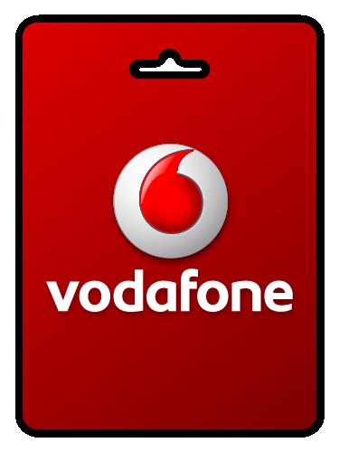 Vodafone e-voucher Pay as you go GBP10