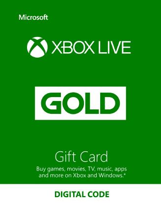 Xbox Live 6 Months SA
